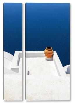 Модульная картина Глиняный горшок
