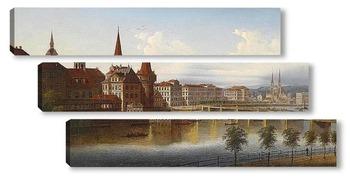 Модульная картина Люцерн, Швейцария