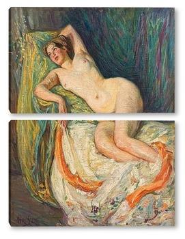 Модульная картина Обнаженная, 1912