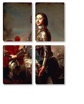 Модульная картина Пётр I