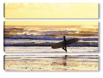 Модульная картина Surfing002