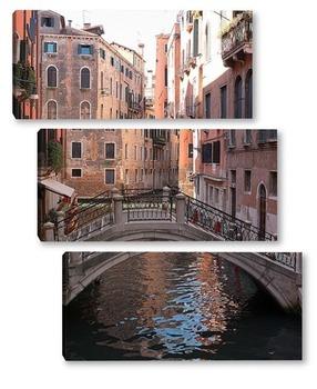 Модульная картина Мостики Венеции