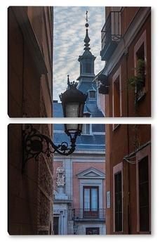 Модульная картина Мадрид