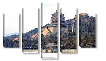 Модульная картина Летний императорский дворец. Пекин.