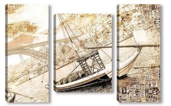 Модульная картина Порт в Португалии
