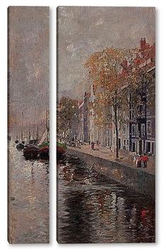 Модульная картина Амстердам , 1891