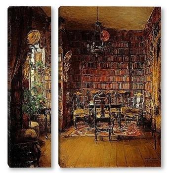 Модульная картина Библиотека Турвалда Боек