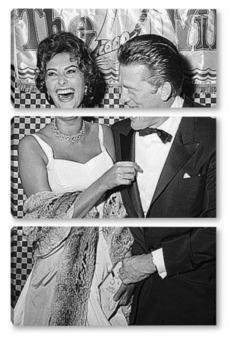 Модульная картина Sophia Loren-04
