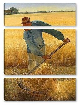 Модульная картина Урожай