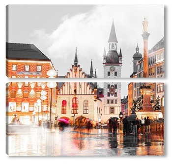 Модульная картина Мюнхен, Германия