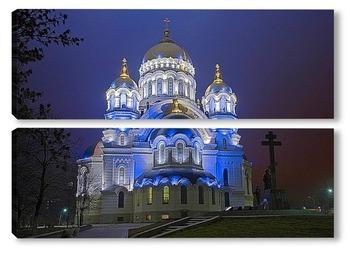 Модульная картина Свято-Вознесенский Кафедральный Собор, Новочеркасск.