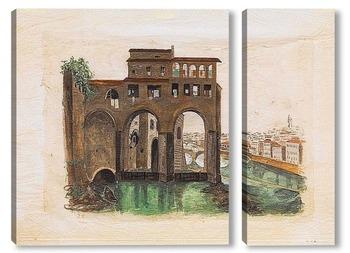 Модульная картина Понте-алле-Грацие