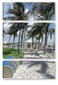 Модульная картина Miami046