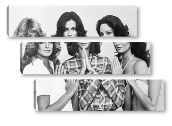 Модульная картина Farrah Fawcett, Kate Jackson and Jaclyn Smith