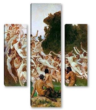 Модульная картина Ореады [Les Oreades] 1902