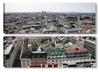 Модульная картина Vienna049