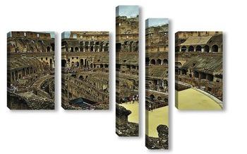 Модульная картина Колизей. Рим. Италия.