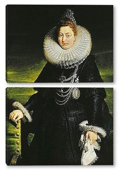 Модульная картина Изабелла Клара Евгения