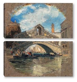 Модульная картина Риальто, Венеция