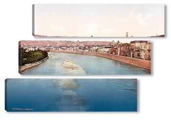 Модульная картина Верона, Италия