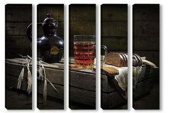 Модульная картина пиво