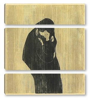 Модульная картина Поцелуй  IV