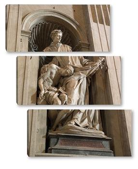 Модульная картина В соборе Святого Петра в Риме