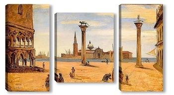 Модульная картина Пьяцетта в Венеции
