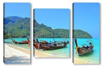 Модульная картина Тропический Таиланд