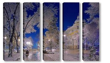 Модульная картина Ростов-на-Дону, ул. Пушкинская.