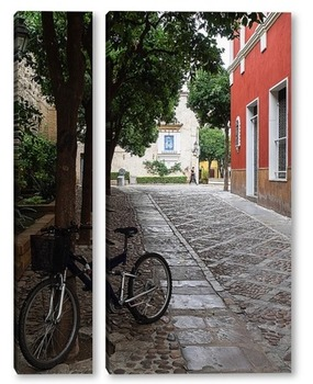 Модульная картина По улочкам Севильи