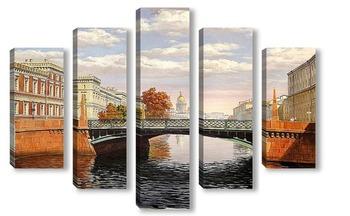 Модульная картина Санкт-Петербург