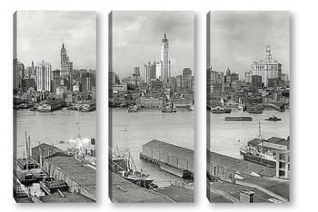 Модульная картина Америка начала 20-го века