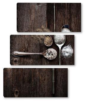 Модульная картина Соль и перец