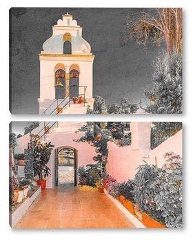 Модульная картина Архитектура Греции