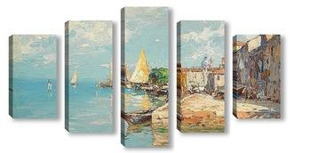 Модульная картина Венеция