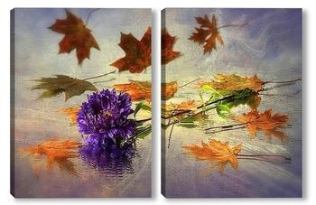 Модульная картина Осенний вальс