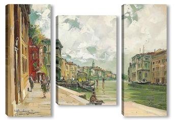 Модульная картина Канал Гранде в Венеции