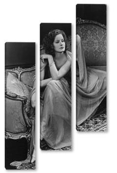 Модульная картина Greta Garbo-2