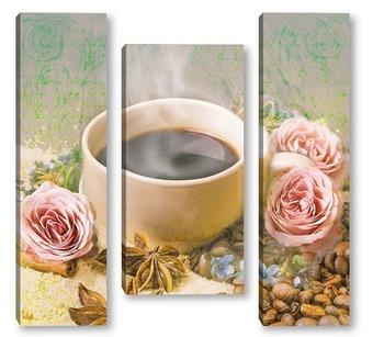 Модульная картина Кофейный аромат