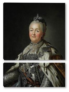 Модульная картина Портрет Екатерины Великой