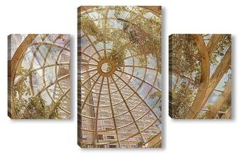 Модульная картина Стеклянный купол