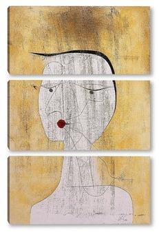 Модульная картина Фигура женщины