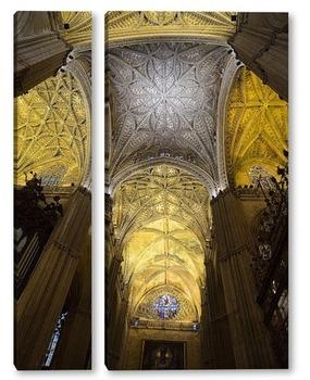 Модульная картина Своды кафедрального  собора