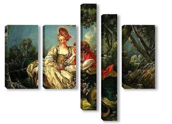 Модульная картина Четыре времени года. Осень (1755)