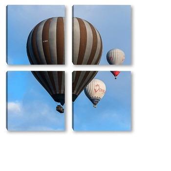Модульная картина Воздушный шар 3