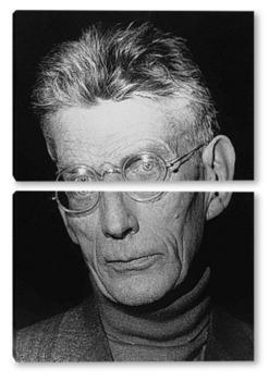 Модульная картина Samuel Beckett-1