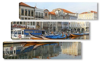 Модульная картина Португальская Венеция