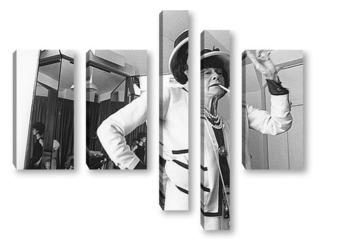 Модульная картина Coco Chanel-06