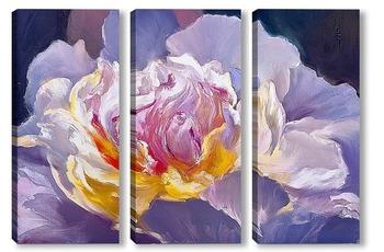 Модульная картина Цветок Императора